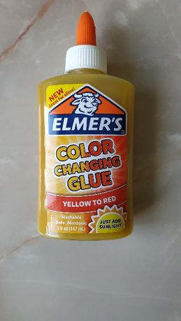 Клей для слайма меняющий цвет Elmers