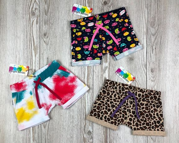 Яркие шорты для девочек от bright berries