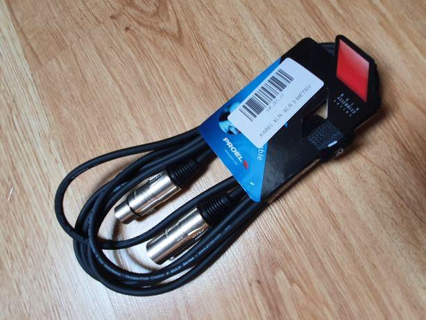 Kabel XLR 3 metry PROEL