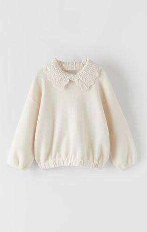 Sweter z kołnierzem Zara roz.92 nowy