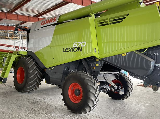 Комбайн Claas Lexion 670 ( новый , на гарантии ) 2021 года