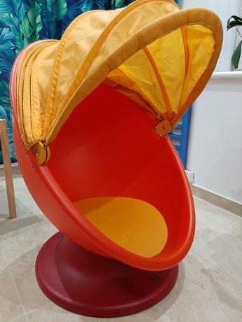 Ikea fotel obrotowy jajo dla dziecka