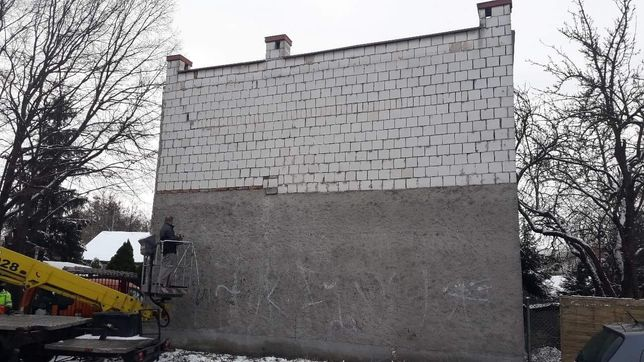 Ściana 45 mkw w Centrum -15gr/dziennie za metr. Montaż gratis!