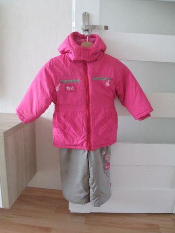 kombinezon coccodrillo 92 98 rozowy dla dziewczynki 3 lata zima