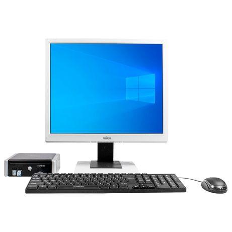 БУ Комплект Fujitsu ESPRIMO Q5020 mini T5670 4GB 120GB SSD Монитор 19
