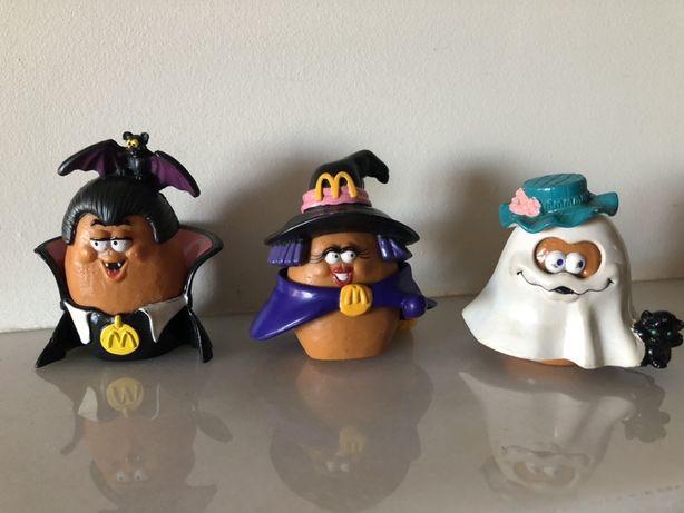"""""""Batatas Halloween"""" Coleção exclusiva para o McDonald's. PVC."""