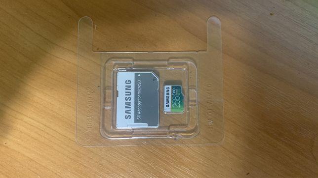 Карта памяти Оригинал Samsung MicroSD U3 10 Class 256Gb