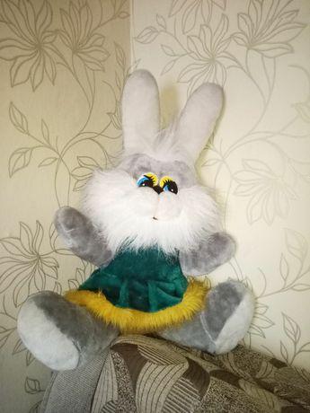 Мягкая игрушка заец