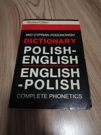 Dictionary Polish-English/English-Polish- Iwo Cyprian Pogonowski