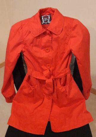 elegancki płaszczyk dla dziewczynki, rozmiar 146 (sklep 5.10.15)