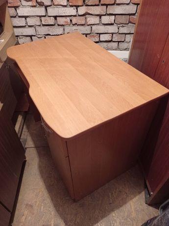Biurko 61 x 96 x 77 cm z szufladą szafką podstawką pod klawiaturę
