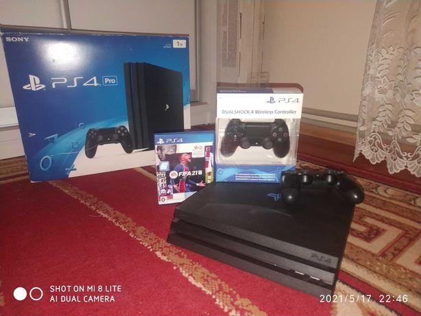Sony playstation 4 pro jet black 1 TB