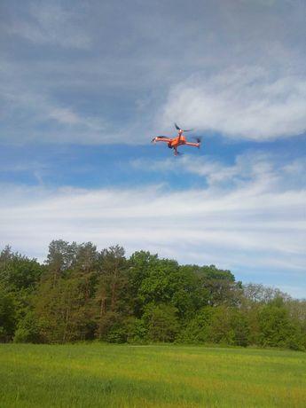 Дрон Квадрокоптер JJRC X17 Orange 6K