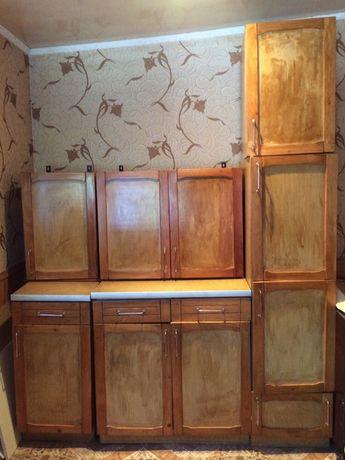 Кухонная мебель деревянная