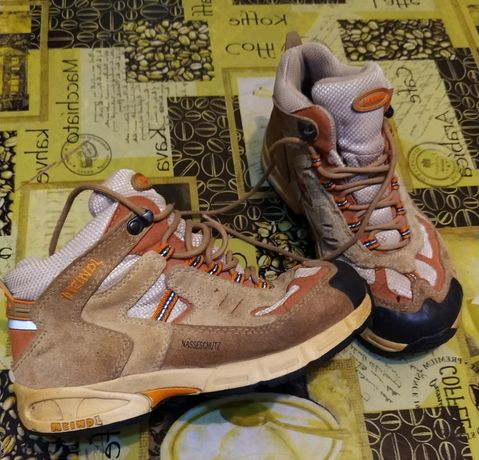 Ботинки, натуральна замша, 31 розмір, у відмінному стані