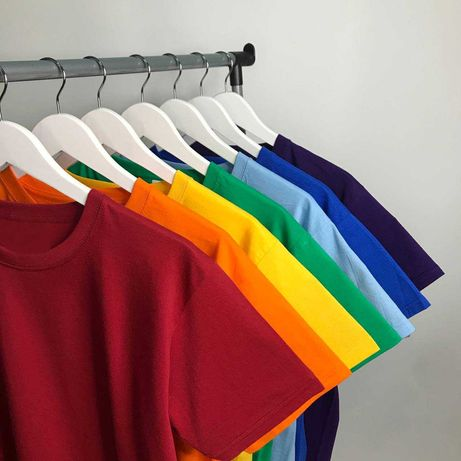 Базові футболки (фото БЕЗ фільтрів) ОПТ ОПТОМ