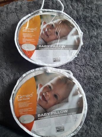 Qmed baby pillow poduszka poduszki korygująca ortopedyczna bliźniaki