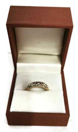 Złoty pierścionek 585/1,78g r. 10