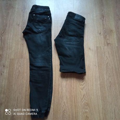 Джинсы и шорты на мальчика подростка 12-14