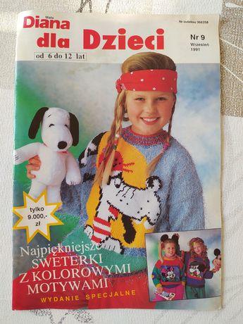 Wzory sweterków dla dzieci - magazyn Diana