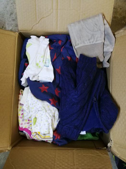 Ciuszki dla dziecka 0-3 miesiące. Duża paczka. Gdańsk - image 1