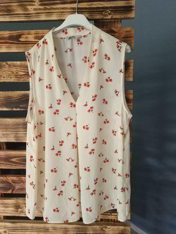 Bluzka w kwiaty 44 idealna dla kobiet w ciąży