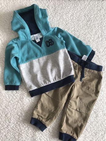 Костюм на хлопчика фірми c&a (baby club) кофта / штани