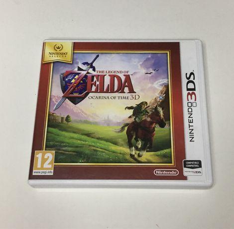 Zelda Ocarina of Time 3D Nintendo 3DS completo CIB