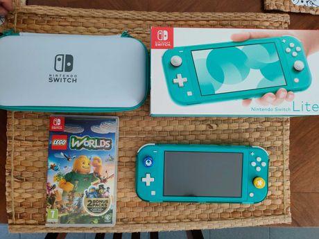 Nintendo Switch Lite (plus Gra) - gwarancja 1,5 roku.