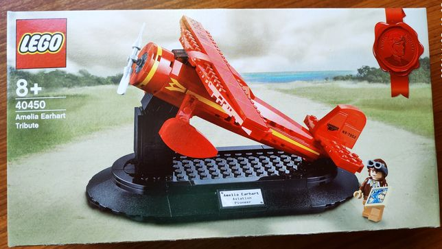Lego Promotional 40450 Hołd dla Amelii Earhart Amelia Nowy! Ideał!