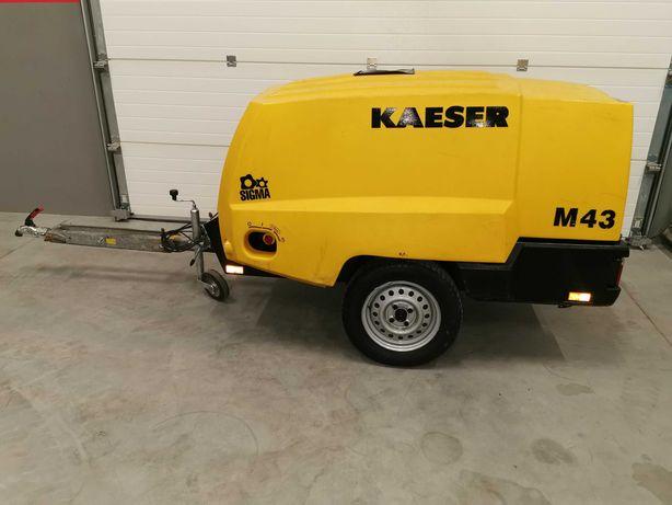 Sprężarka śrubowa spalinowa KAESER M43 kompresor 4300l/m REJESTRACJA!