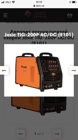 Аппарат аргонодуговой Сварки Jasic Tig-200P AC/DC (E101)
