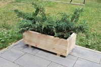 Donica drewniana z kantówki, skrzynia, kwietnik, donice drewniane