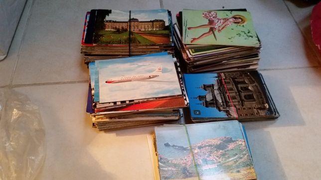 Lote de postais e caixas de fósforos de colecção!