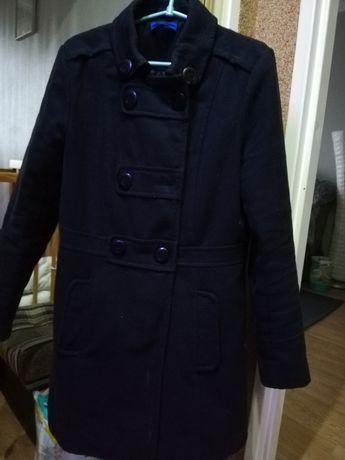 Płaszcz damski jesień zima = duża czakolada