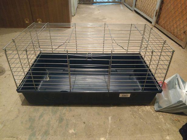 Klatka dla świnki, królika 80x45cm + dodatki