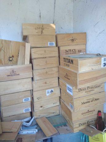 Caixas de vinho ao lote ou unidade