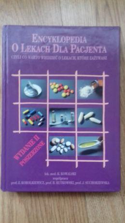 Encyklopedia o lekach dla pacjenta sztywna oprawa