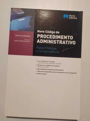 Novo Código de Procedimento Administrativo