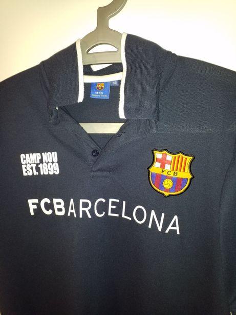 FC Barcelona nowe oryginalne polo (produkt oficjalny) rozmiar XS