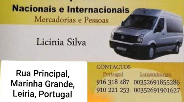 Transportes nacional e internacional
