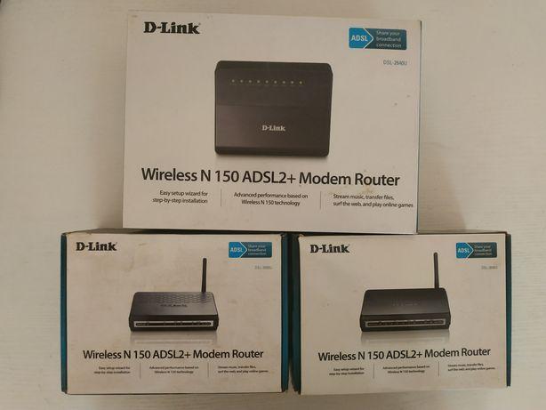 DSL wi-fe модеми