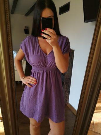 Fioletowa sukienka r. L