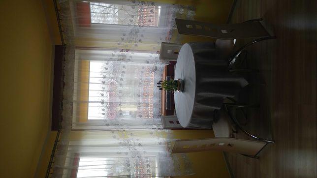 Firana salon gipiura balkon wykusz