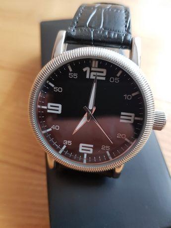 Męski zegarek Smart Casual, czarny elegancki !!