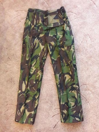 Брюки штаны камуфляж DPM Демисезонные армии Британии тактические