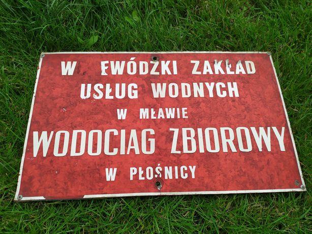 Stara tablica informacyjna
