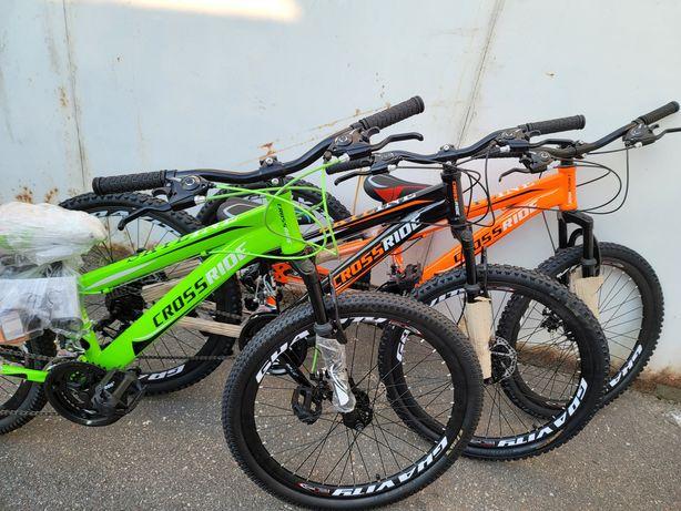 велосипед горный Cross 24 и 26 дюймоа с 7 лет