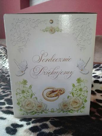 Pudełko na koperty ślubne
