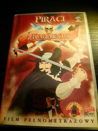 Piraci z Karaibow dvd animowany